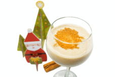 Chilled Coconut Milk Eggnog